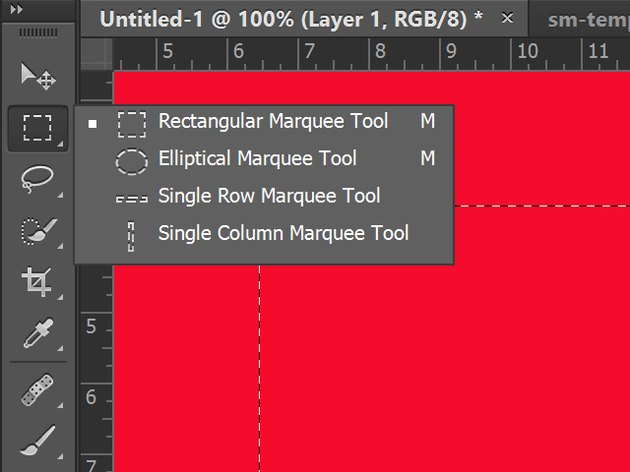 Marquee Tools in the Toolbox