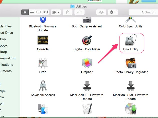 Click Disk Utility