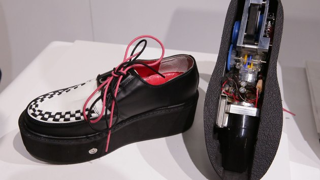 Denso Vacuum Shoes are shoes that vacuum.