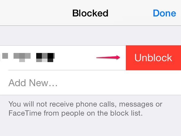 IPhones don't ring for blocked numbers.