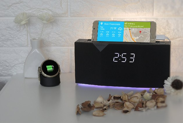 Beddi app-enabled smart clock