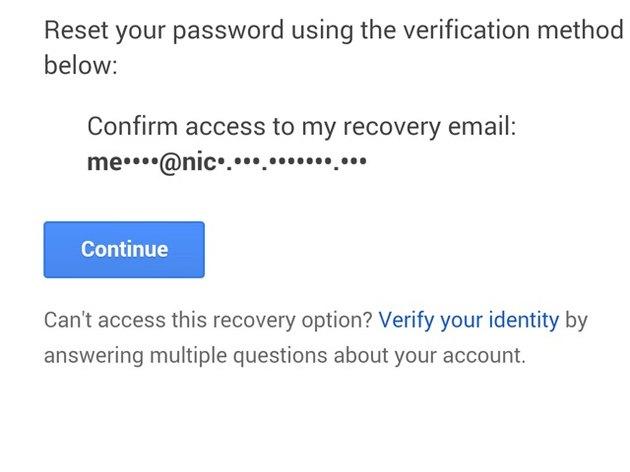 Choose a verification method.