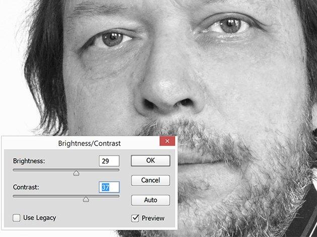 Brightness/Contrast window