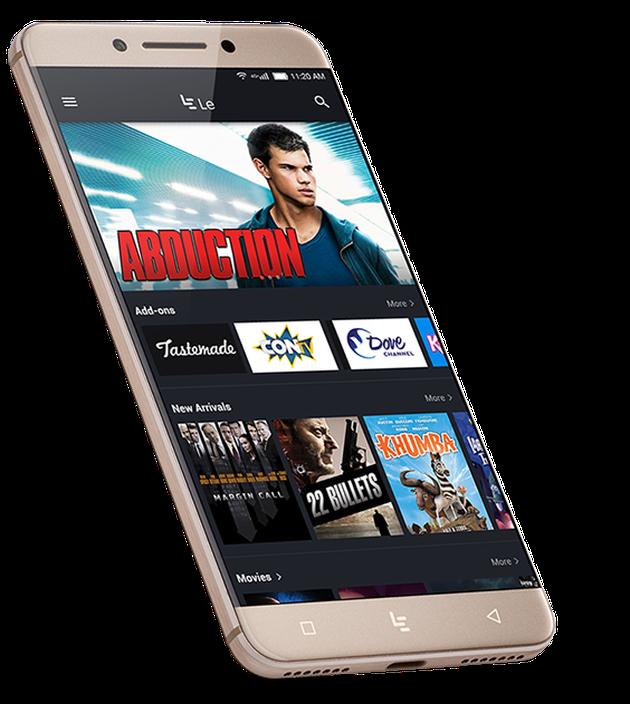 Photo of the LeEco Le Pro 3 smartphone