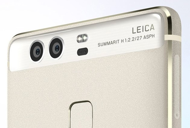 Huawei phone with dual cameras