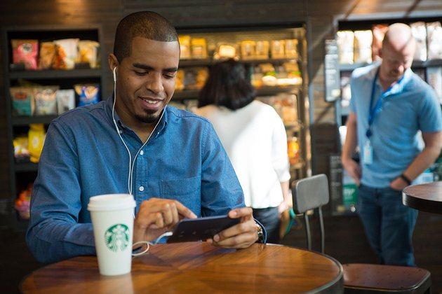 Starbucks uses Google Wi-Fi.