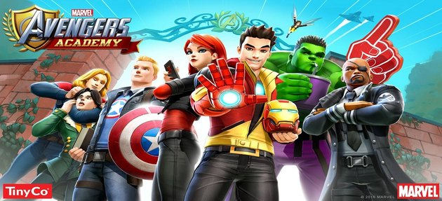 Marvel Avengers Academy portrays top Marvel heroes as teens.