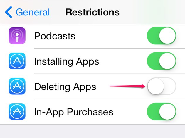 App Restrictions
