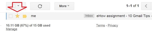 You start out with one color for stars in Gmail.