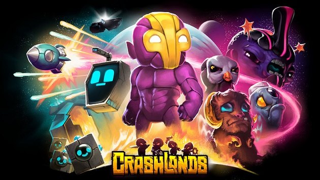 Crashlands is an adventure-crafting RPG.