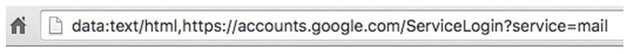 A screenshot of an address bar