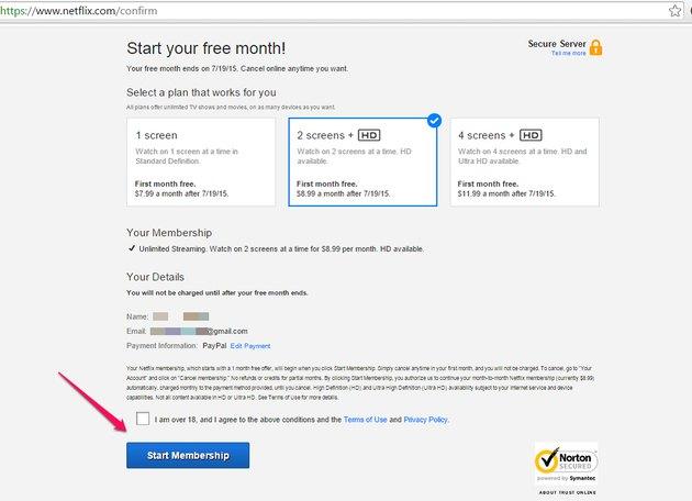 Click Start Membership