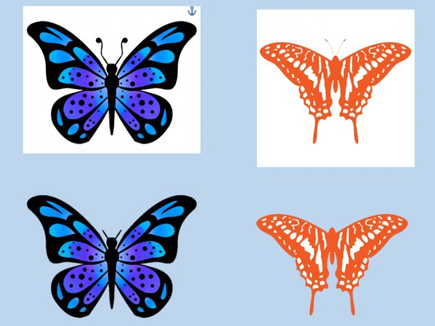 Butterfly pictures with backgrounds removed