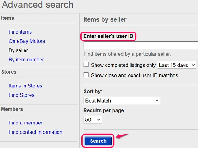 Search by user