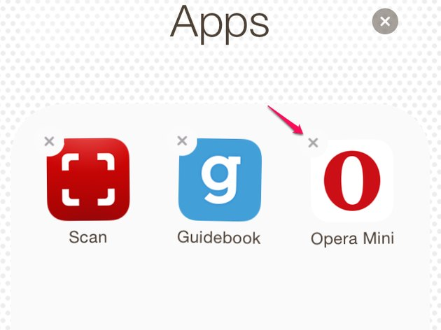 Delete apps on your home screen or in folders.