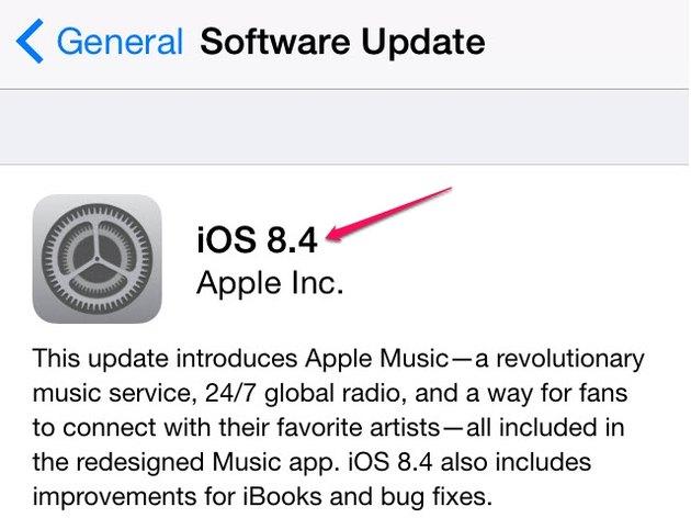 Review the update's description.