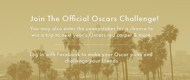 2017 Official Oscars Challenge