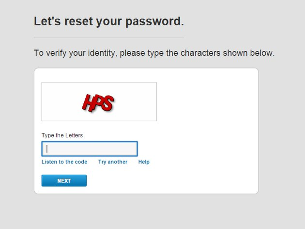 Comcast CAPTCHA