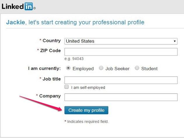 Create Basic Profile