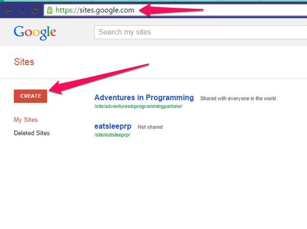 sites google