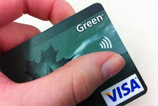 An RFID credit card