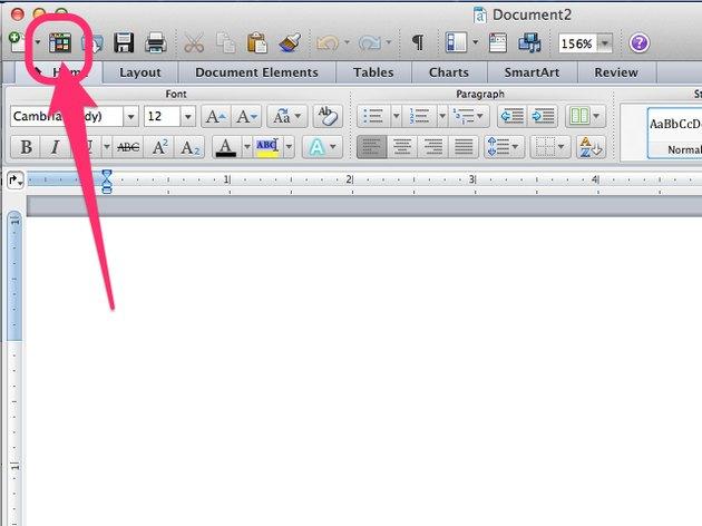 Word 2011 on a Mac