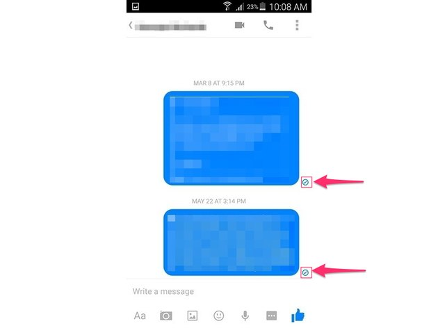 Facebook Messenger (Android 5.0)