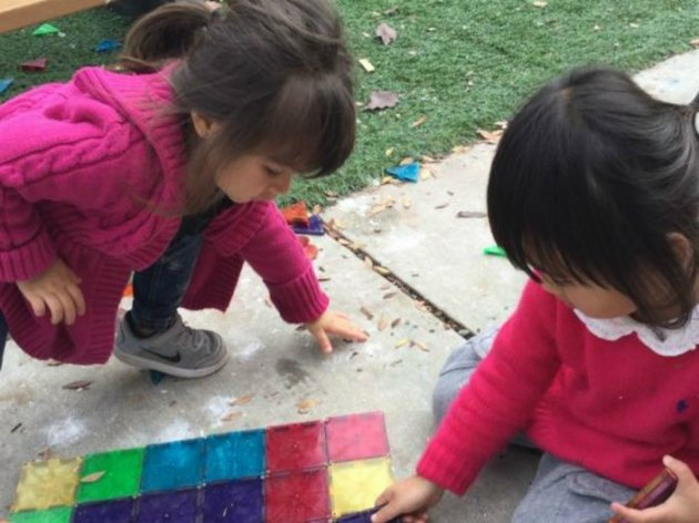 Pre-schoolers go hands-on