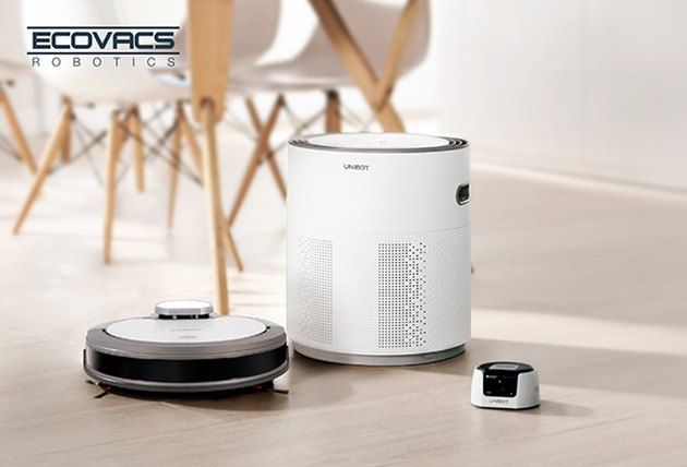 Unibot with air purifier and security cam