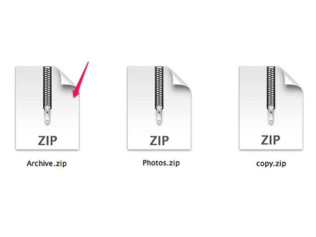 OS X ZIP files