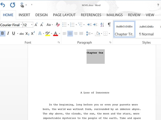 Word features advanced formatting options for documents.