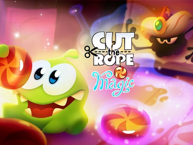 Cut the Rope: Magic brings back the candy-loving Om Nom in a new adventure.