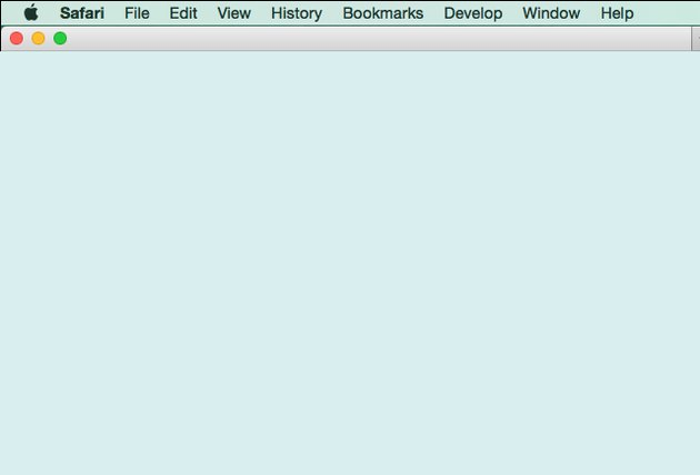 A Safari window with no navigation bars.