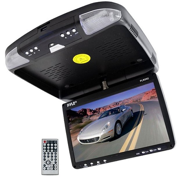Flip Down DVD player