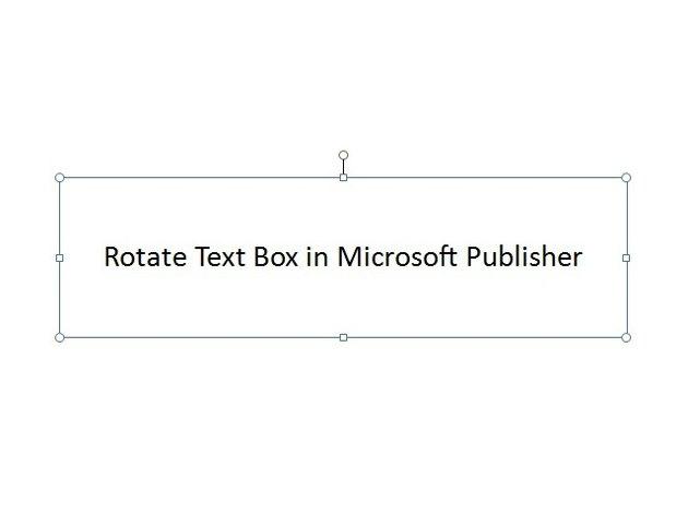 Select text box.