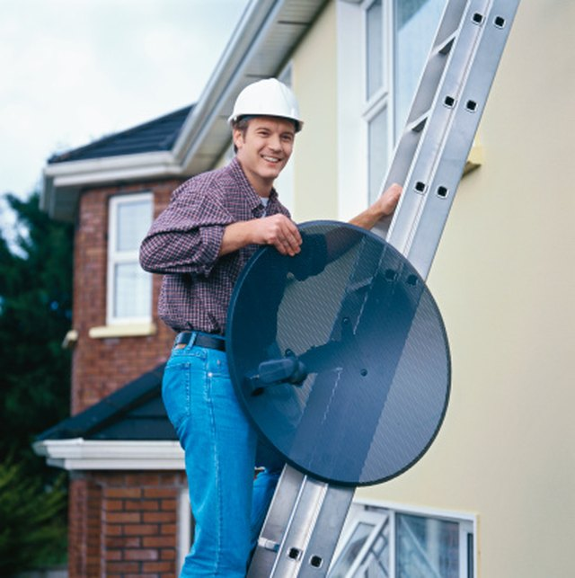 How To Hook A Tv Antenna To A Satellite Dish Techwalla Com