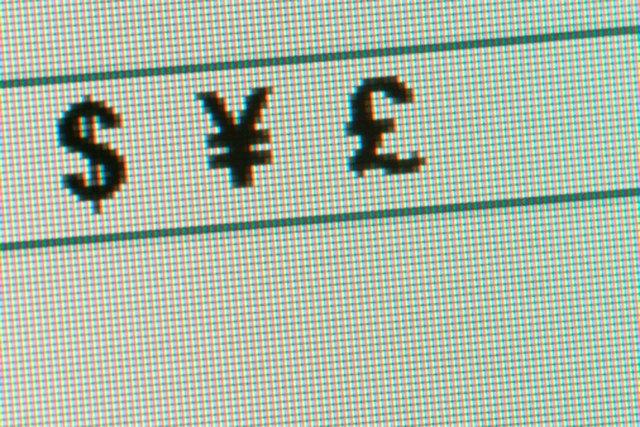 how to insert money symbols with indesign cs4