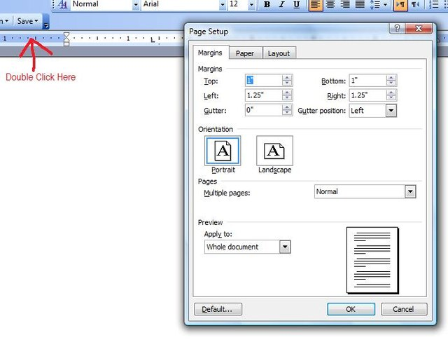 how to make a microsoft word document respond