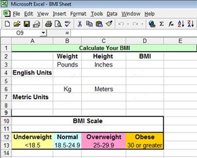 How To Calculate Bmi In Excel  Techwallacom-1402