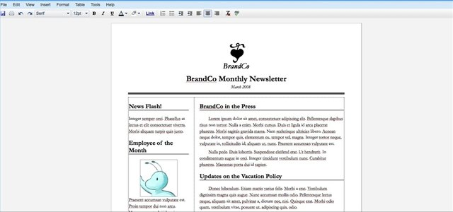 How To Create A Newsletter With Google Docs