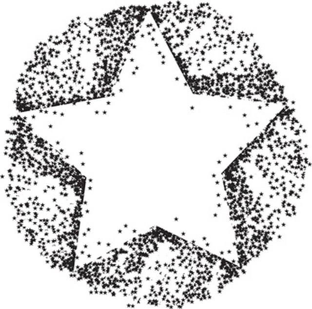 Line Drawing Using Python : How to draw a five point star using python language