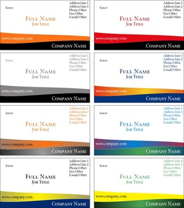 How To Set Margins For Avery Business Cards On Microsoft Word