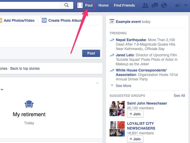 how to find old facebook friends deleted