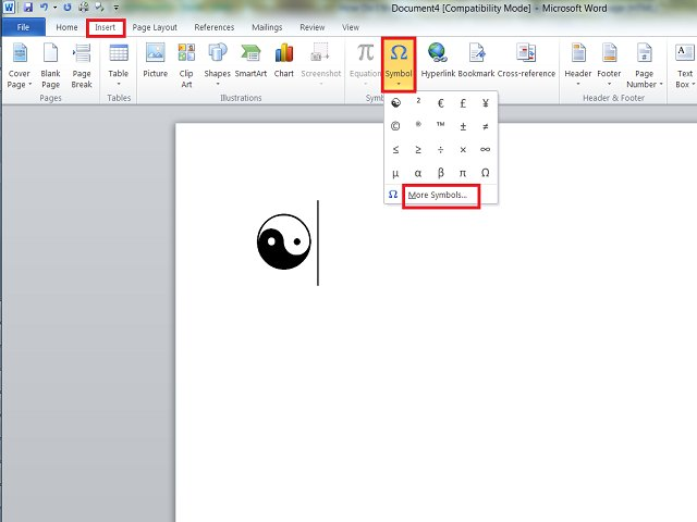 How Do I Make A Yin And Yang Symbol With A Keyboard Techwalla