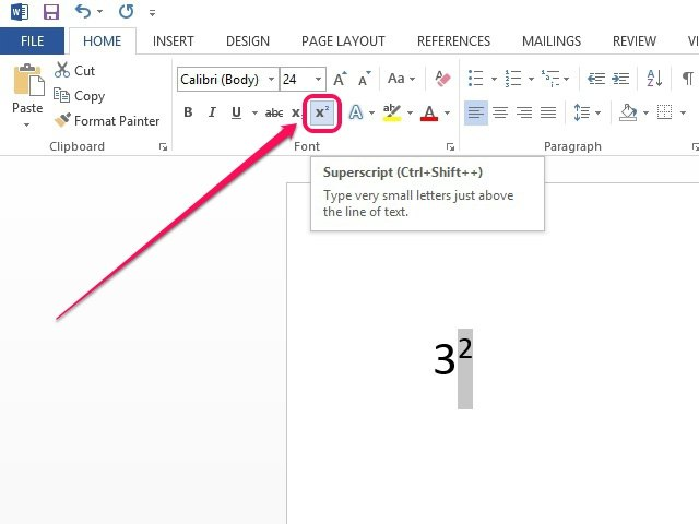 How To Square A Number On Microsoft Word Techwalla