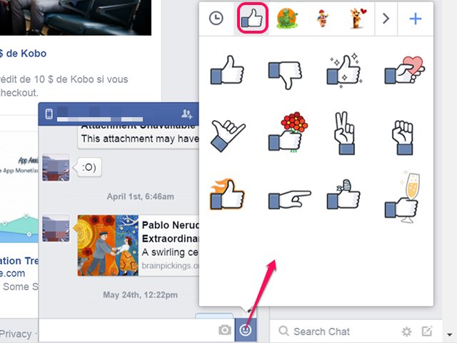 How To Make Thumbs And Other Symbols In A Facebook Comment