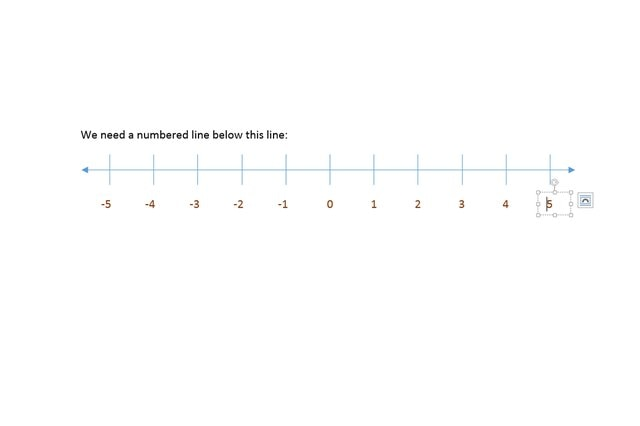 How Do I Create a Number Line in Microsoft Word ...