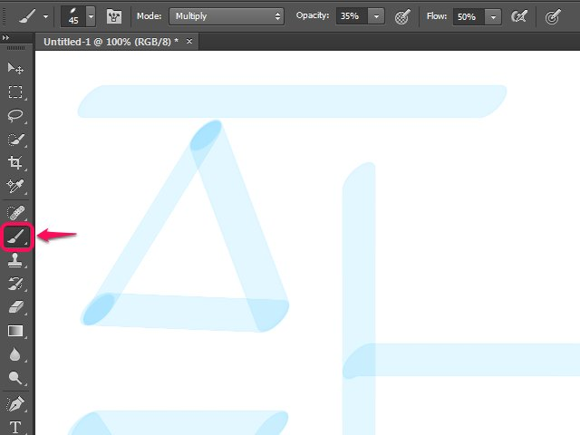 How To Draw Straight Lines In Photoshop With Brush