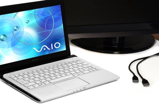 How to Connect a Sony Vaio to a TV via HDMI | Techwalla.com
