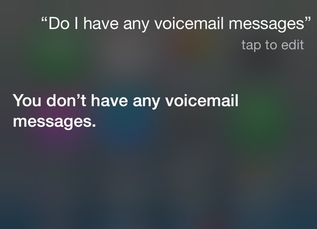 How to listen to your voicemail on your iphone techwalla siri m4hsunfo